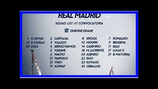 Noticias de última hora | Zidane se llevó a todos a Turín