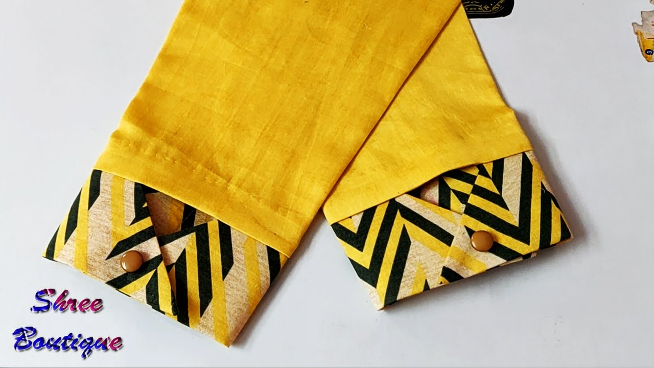 New stylish sleeves design easy cutting and stitching