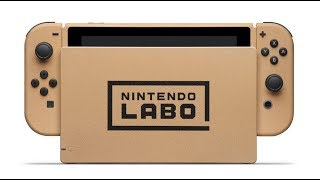 Win a Special Nintendo Labo Themed Switch for AUS/NZ Fans
