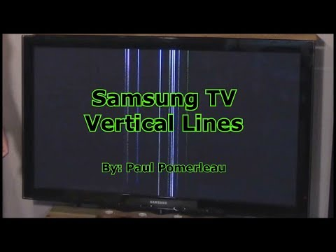 Samsung TV Vertical Lines
