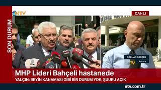 MHP Lideri Bahçeli hastanede
