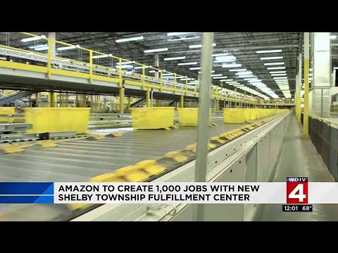 Amazon to create 1,000 jobs with new Shelby Township fulfillment center