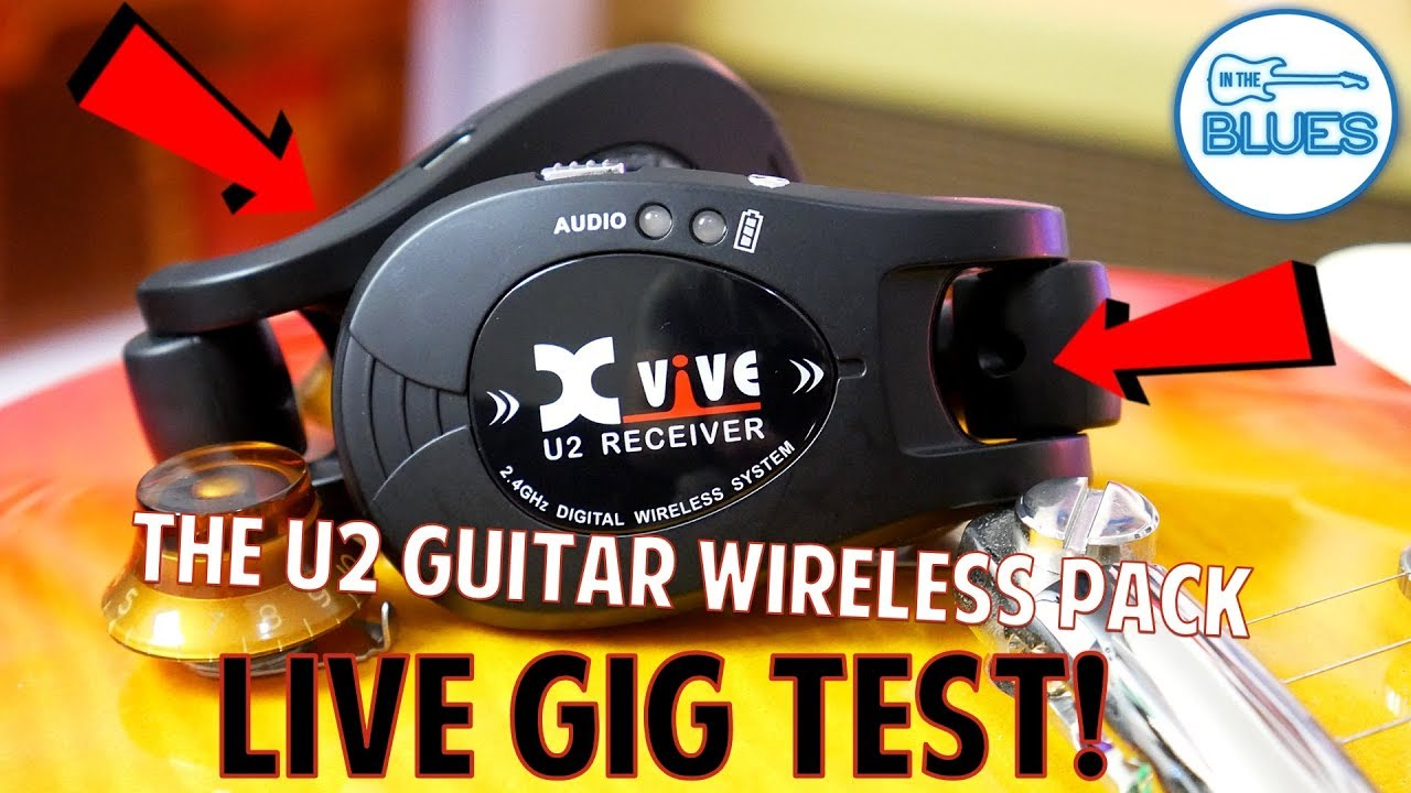 xvive u2 wireless guitar system live gig test youtube. Black Bedroom Furniture Sets. Home Design Ideas