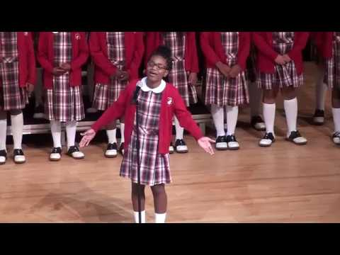 "Cardinal Shehan School Choir -  "" All My Trials"" /  ""Hold On"""""