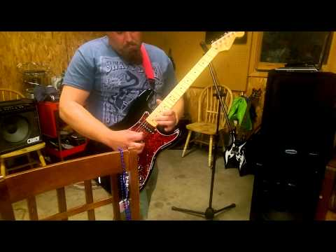 Stranglehold Guitar accompaniment cover