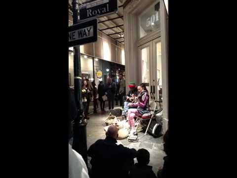Hello Adele cover - New Orleans Street performance