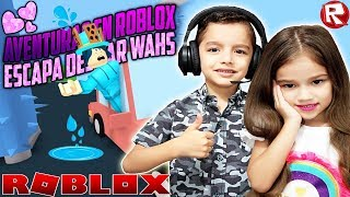ESCAPA DEL CAR WASH EN ROBLOX [ Escape The Car Wash Obby] TERROR EN EL CAR WASH CON EMILIANITO💜
