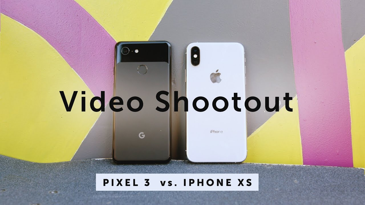 What's Best For Video? Pixel 3 vs  iPhone XS - Moment