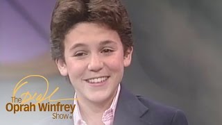 A 14-Year-Old Fred Savage Shares His Wildest Dreams | The Oprah Winfrey Show | Oprah Winfrey Network