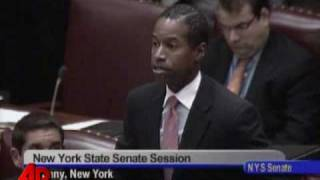 Raw Video: New York Senate Rejects Gay Marriage