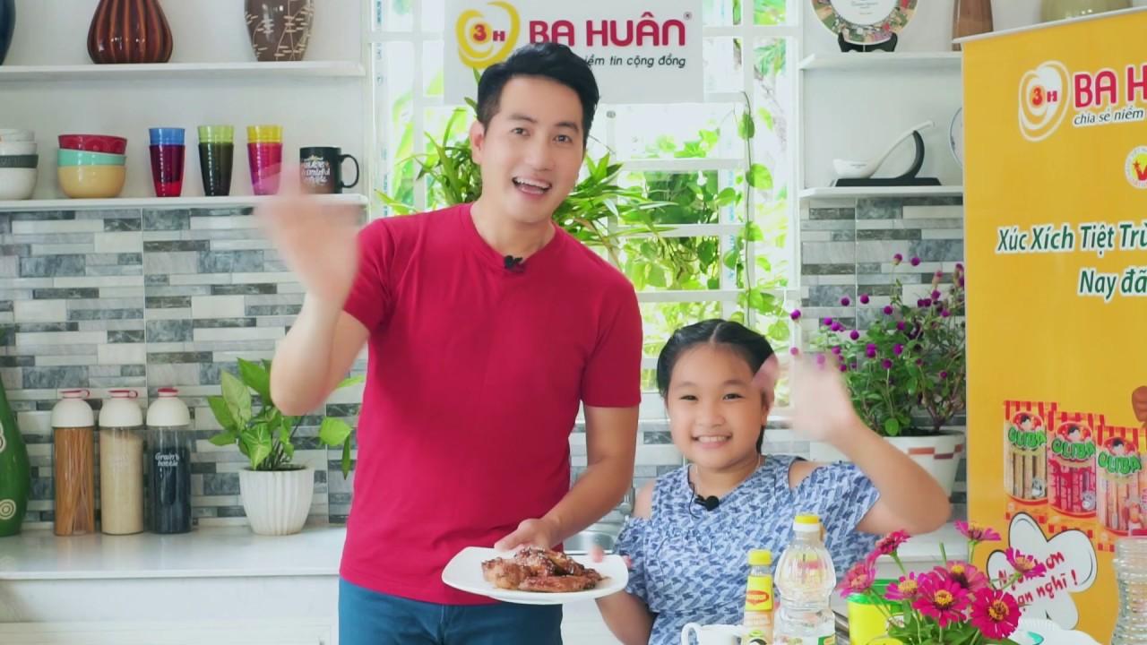 Cánh Gà Sốt Mật Ong|Món Ăn Trẻ Em Yêu Thích|Món ăn| Bé Cùng Vào Bếp|Vào Bếp Cùng Nguyễn Phi Hùng