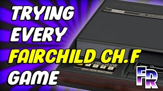 Fairchild Channel F (1976) Library | Trying all 26 Videocarts