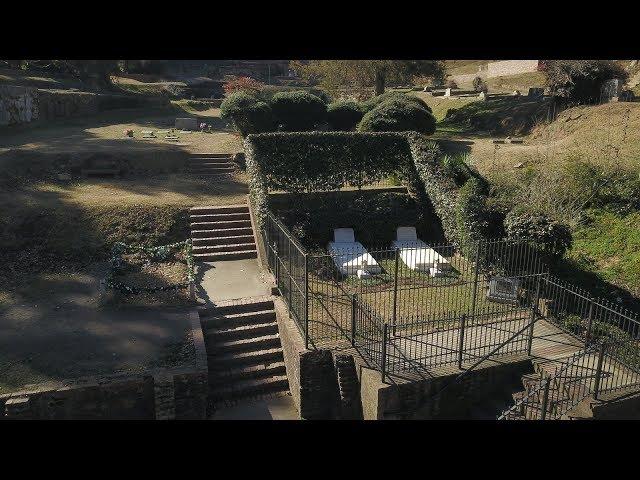 Gregg Allman, Duane Allman & Barry Oakley's Grave site in Rose Hill Cemetery