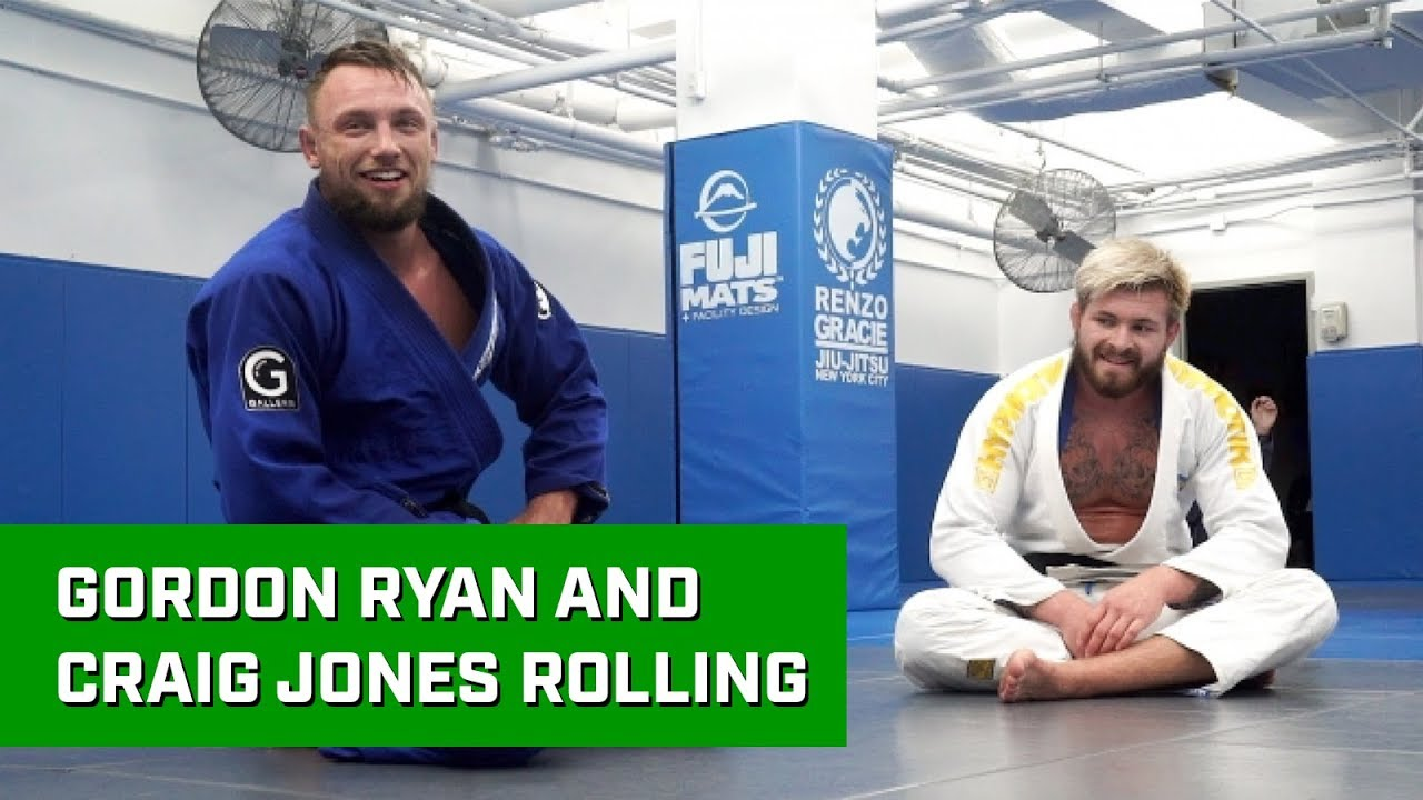 EXCLUSIVE: Gordon Ryan rolls with Craig Jones in the gi!