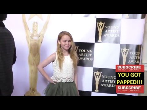 Talitha Bateman at the 37th Annual Young Artist Awards Sportsman Lodge in Studio City