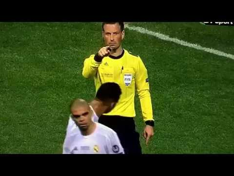 Pepe - what a prick - well done Clattenburg