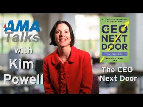 Kim Powell Talks The CEO Next Door
