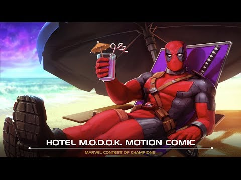 Hotel M.O.D.O.K. Motion Comic | Marvel Contest of Champions