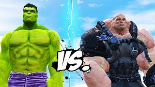 Hulk vs bane epic battle