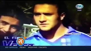 El video de Vignolo en su etapa como jugador de Velez