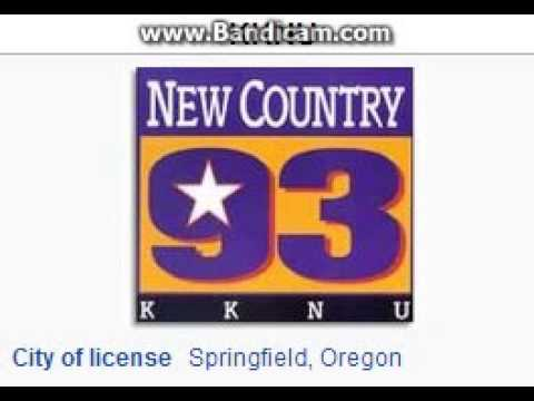 KKNU 93.3 New Country 93 Springfield, OR TOTH ID at 5:00 p.m. 5/25/2014