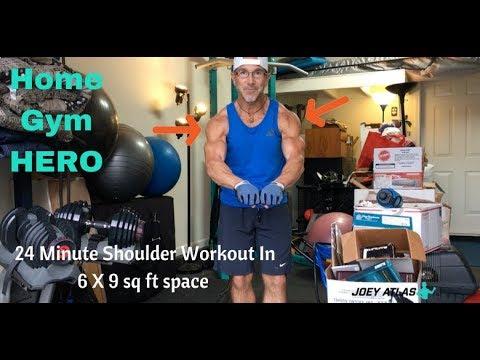 1st Workout In New Home Gym Garage Is Shoulder Focused Session