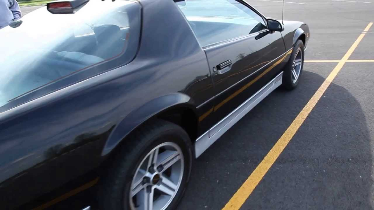1986 iroc z28 camaro for sale youtube. Black Bedroom Furniture Sets. Home Design Ideas