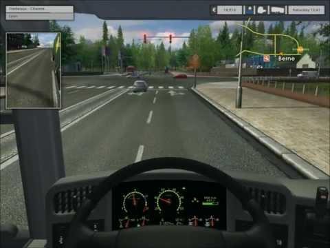 Euro Truck Simulator Gold Edition. Berne to Lyon |