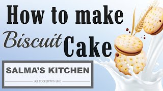 How to Bake Biscuit Cake with 3 ingredients Using JIKO