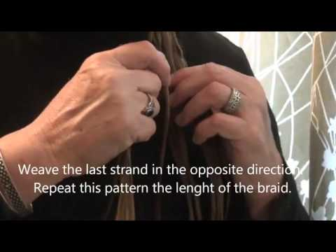 Fancy Basket weave Braid Video from the Feathered Nest, Bishop Hill, Illinois USA   YouTube