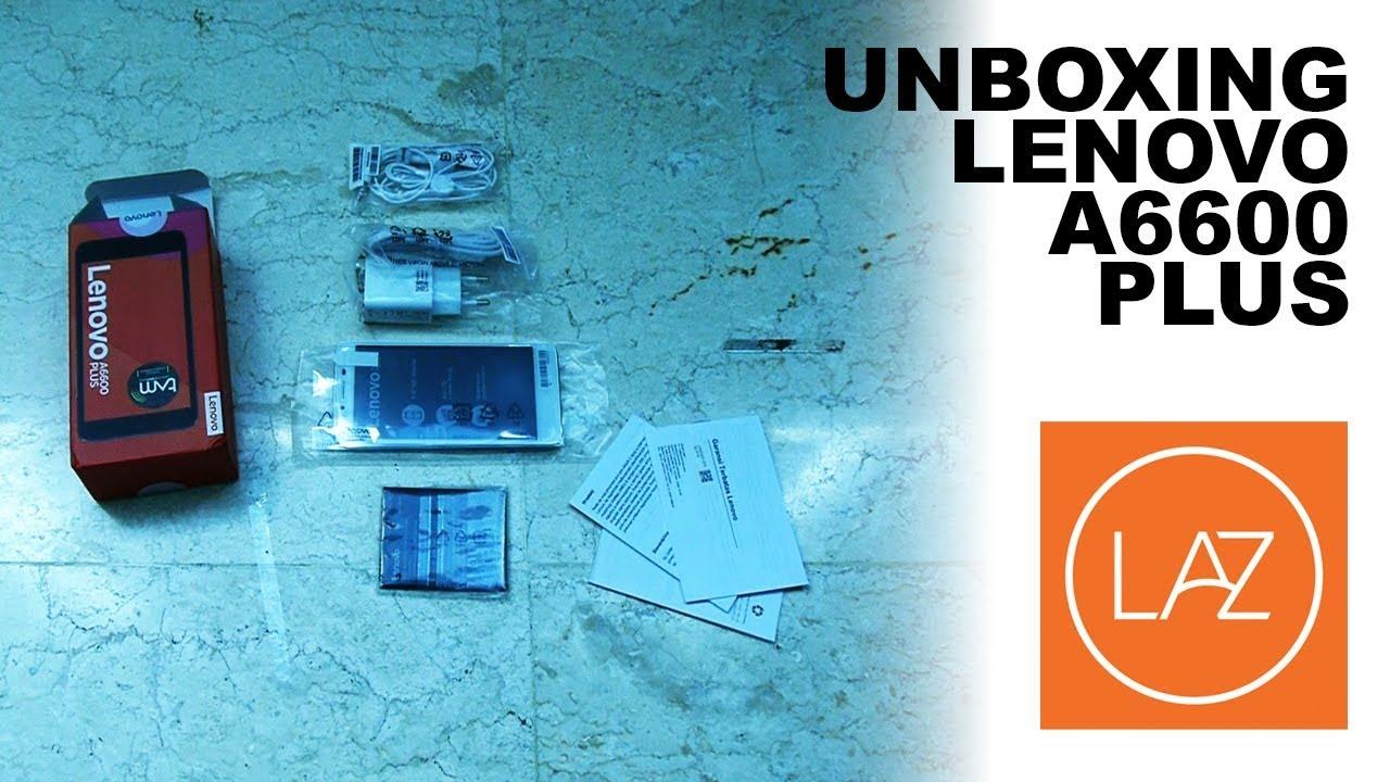 Lenovo A6600 Plus Hitam Unboxing Pixel Cell Lazada Youtube K6 Power Garansi Resmi