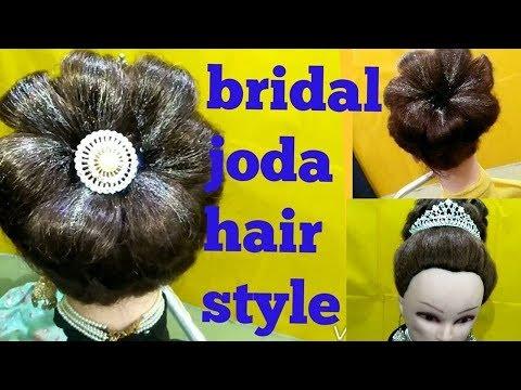 Bun hairstyle,easy wedding hairstyles,joda bun,joda hairstyle,bun tutorial,