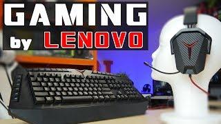 Klawiatura i słuchawki gamingowe w wydaniu LENOVO - czy warte uwagi i jak z praktyką - test Lenovo Y