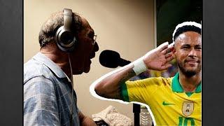 Radialistas e os gols de Neymar Jr