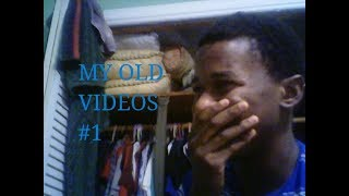 Reacting to my Old Videos #1 thumbnail