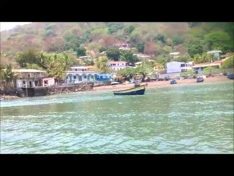 Boat ride on the Golf of Fonseca, from El Salvador to Nicaragua