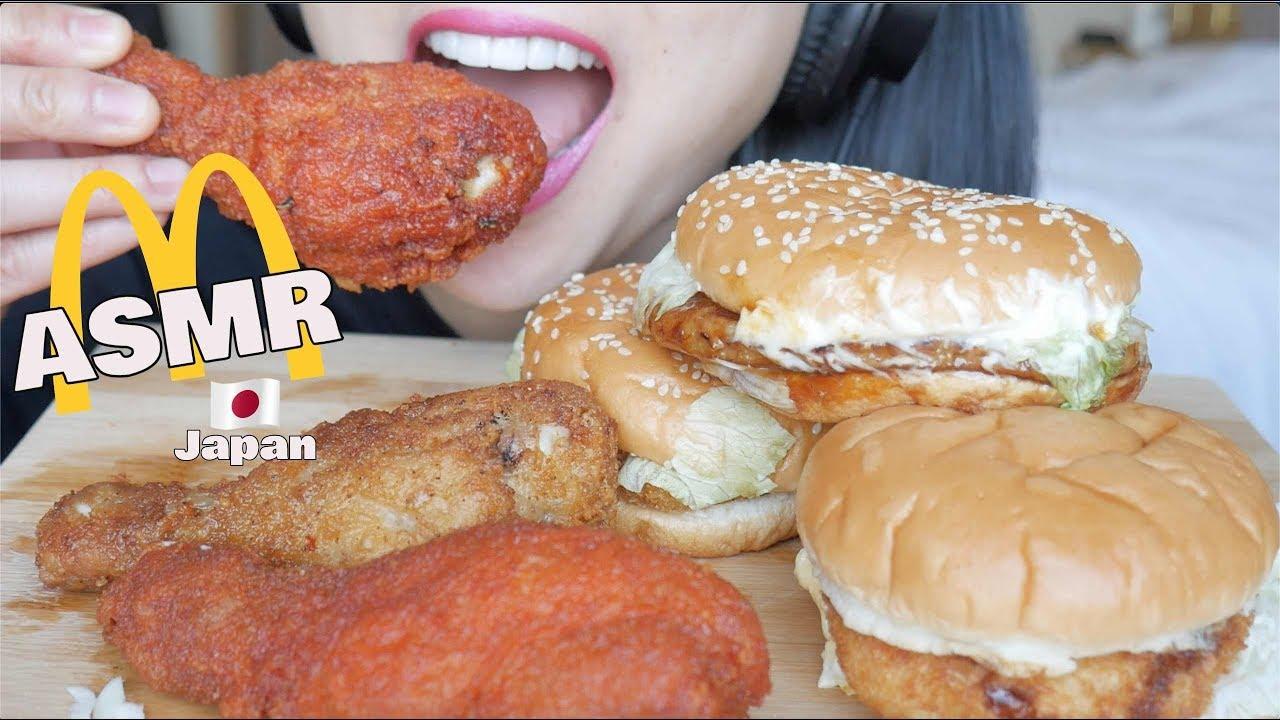 Asmr Mcdonalds Japan Fried Chicken Eating Sounds No Talking Sas Asmr