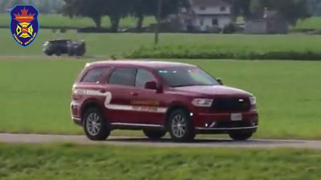 Responding - Leamington Fire, Car 1