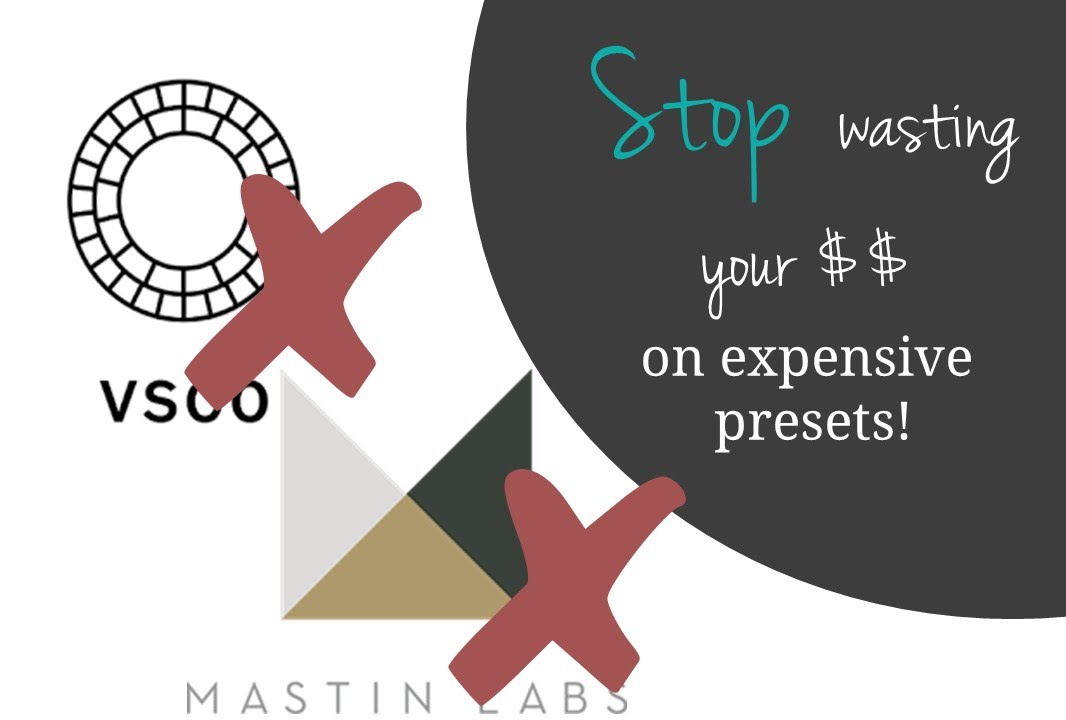 HOW NOT to waste money on Film Presets like Mastin Labs