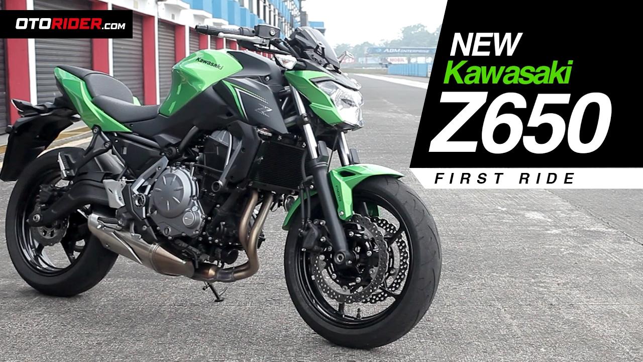 Kawasaki Z650 First Ride