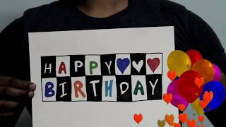 Creative Birthday wish ||Mr dooga||wishing Birthday video