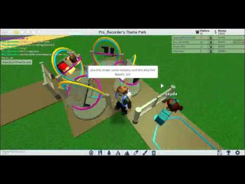 Roblox Theme Park Tycoon 2 Ep1 Playing With Hacks Youtube