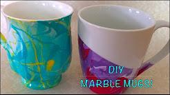 DIY crafts   Marble Mug