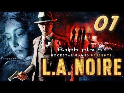 L.A. Noire: First Murder Case (Let's play part 1)