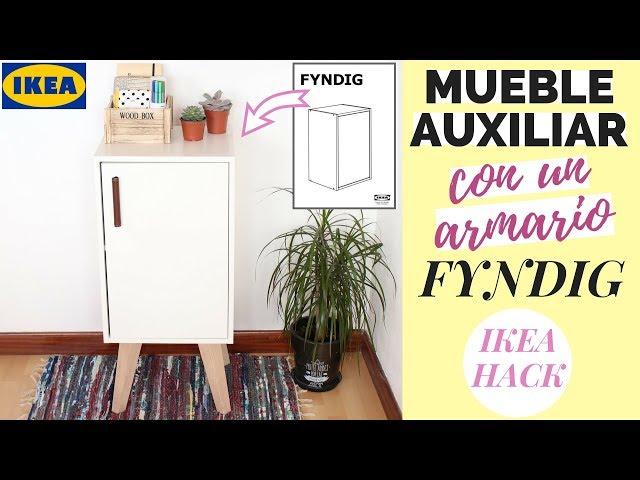 MUEBLE AUXILIAR con armario de pared FYNDIG / KNOXHULT | IKEA HACK