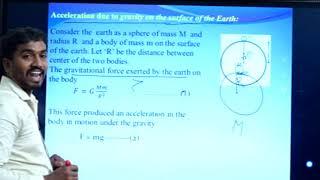 I PUC   Physics   Gravitation-02