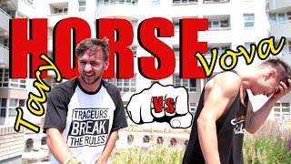 PARKOUR HORSE CHALLENGE #3 | VOVA VS. TARY