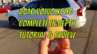 2016 / 2017 Volvo XC90 Complete In Depth Tutorial & Review