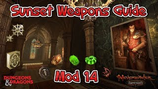 Neverwinter - Sunset Weapon Guide - Mod 14