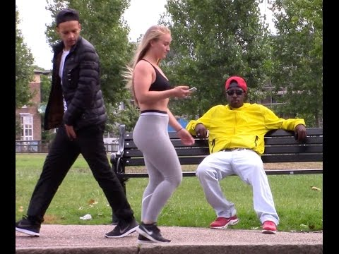 BIG BOOTY BAIT PRANK IN PUBLIC (PART 2)